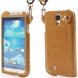 """""""Kashidun"""" dėklas, įmautė - ruda (Galaxy S4)"""