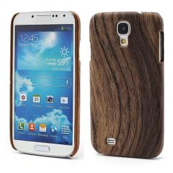 """""""Medinis"""" dėklas - tamsaus medžio (Galaxy S4)"""