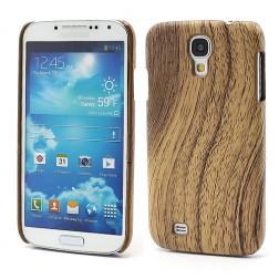 """""""Medinis"""" dėklas - šviesaus medžio (Galaxy S4)"""