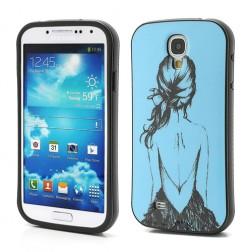 """""""iFace"""" dėklas - mėlynas (Galaxy S4)"""