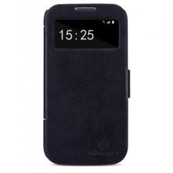 """""""Nillkin"""" Victory atverčiamas dėklas - juodas (Galaxy S4)"""