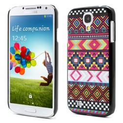Raštuotas dėklas - spalvotas (Galaxy S4)
