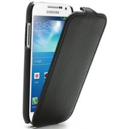 Atverčiamas dėklas - juodas (Galaxy S4 mini)