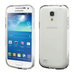 Silikoninis dėklas - skaidrus (Galaxy S4 mini)