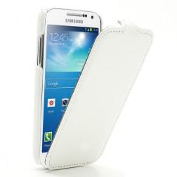 Atverčiamas dėklas - baltas (Galaxy S4 mini)