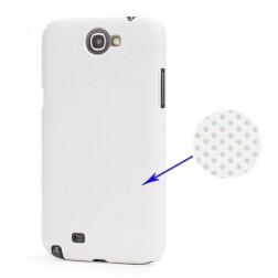 Plastikinis dėklas - baltas (Galaxy Note 2)