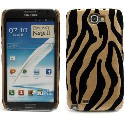 """""""Zebrinis"""" dėklas - juodas, auksinis (Galaxy Note 2)"""