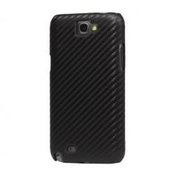 """""""Karboninis"""" dėklas - juodas (Galaxy Note 2)"""