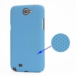 Plastikinis dėklas - šviesiai mėlynas (Galaxy Note 2)