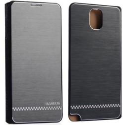 """Prabangus """"Baseus Business"""" dėklas - juodas (Galaxy Note 3)"""