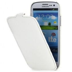 """""""Melkco"""" atverčiamas dėklas - baltas (Galaxy S3)"""