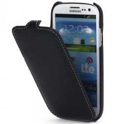 """""""Melkco"""" atverčiamas dėklas - juodas (Galaxy S3)"""