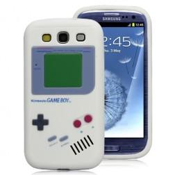 """""""Gameboy"""" dėklas - baltas (Galaxy S3)"""