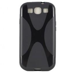 Silikoninis dėklas - juodas (Galaxy S3)