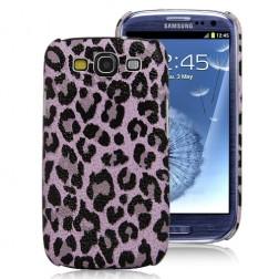 """""""Leopardinis"""" dėklas - rožinis (Galaxy S3)"""