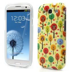 Žaismingas dėklas - pelėda medyje (Galaxy S3)