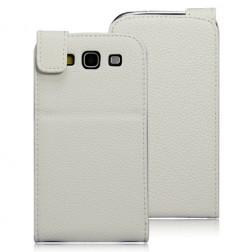 Atverčiamas pastatomas dėklas - baltas (Galaxy S3)