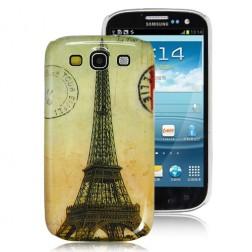 Retro stiliaus dėklas - Eifelis (Galaxy S3)