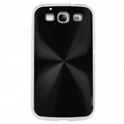 CD stiliaus dėklas - juodas (Galaxy S3)