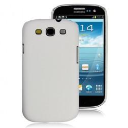 Plastikinis dėklas - baltas (Galaxy S3)