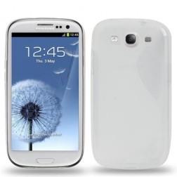 Silikoninis dėklas - skaidrus (Galaxy S3)
