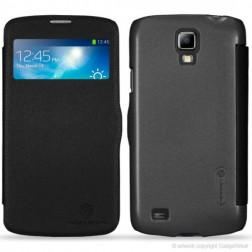 """""""Nillkin"""" Fresh Series atverčiamas dėklas - juodas (Galaxy S4 Active)"""