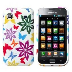 Silikoninis dėklas - spalvotas (Galaxy S)