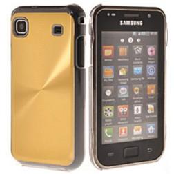 Plastikinis dėklas - auksinis (Galaxy S)