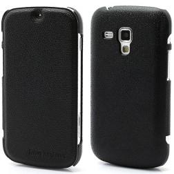 """""""Zozzle"""" atverčiamas dėklas - juodas (Galaxy S Duos / Trend)"""