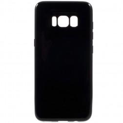 Kieto silikono (TPU) dėklas - juodas (Galaxy S8)