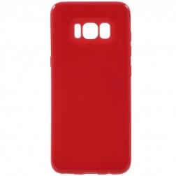 Kieto silikono (TPU) dėklas - raudonas (Galaxy S8)
