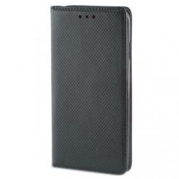 """""""Shell"""" solidus atverčiamas dėklas - juodas (Galaxy A50 / A30s)"""