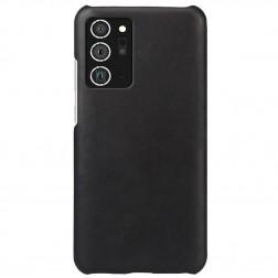 Slim Leather dėklas - juodas (Galaxy Note 20)