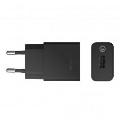 """""""Sony"""" Quick Charger UCH10 sieninis įkroviklis (1800 mAh / 1700 mAh / 1275 mAh) - juodas"""