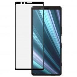 """""""Imak"""" Tempered Glass pilnai dengiantis apsauginis ekrano stiklas 0.2 mm - juodas (Xperia 1)"""