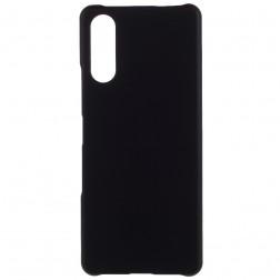 Plastikinis dėklas - juodas (Xperia 10 III)