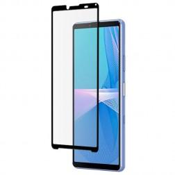 """""""Mocolo"""" Tempered Glass pilnai dengiantis apsauginis ekrano stiklas 0.2 mm - juodas (Xperia 10 III)"""