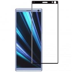 """""""Mocolo"""" Tempered Glass pilnai dengiantis apsauginis ekrano stiklas 0.2 mm - juodas (Xperia 10)"""