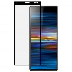 """""""Imak"""" Tempered Glass pilnai dengiantis apsauginis ekrano stiklas 0.2 mm - juodas (Xperia 10 Plus)"""