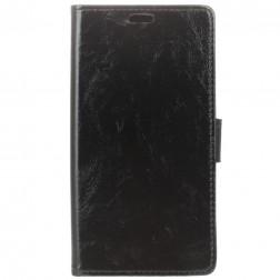 Atverčiamas dėklas - juodas (Xperia 10 Plus)