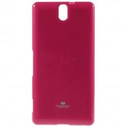 """""""Mercury"""" dėklas - rožinis (Xperia C5 Ultra)"""
