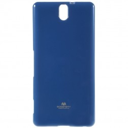 """Mercury"" dėklas - mėlynas (Xperia C5 Ultra)"