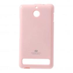"""""""Mercury"""" dėklas - rožinis (Xperia E1)"""