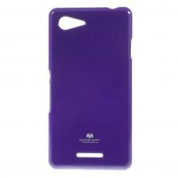 """Mercury"" dėklas - violetinis (Xperia E3)"