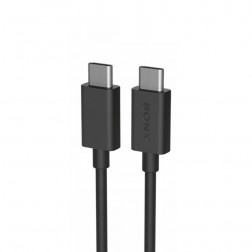 """""""Sony"""" Type-C Type-C laidas - juodas (1 m.)"""