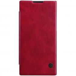 """""""Nillkin"""" Qin atverčiamas dėklas - raudonas (Xperia L1)"""