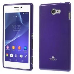 """""""Mercury"""" dėklas - violetinis (Xperia M2)"""