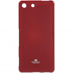 """""""Mercury"""" dėklas - raudonas (Xperia M5)"""