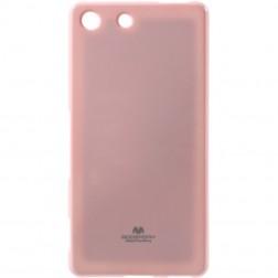 """""""Mercury"""" dėklas - šviesiai rožinis (Xperia M5)"""