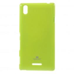 """""""Mercury"""" dėklas - žalias (Xperia T3)"""